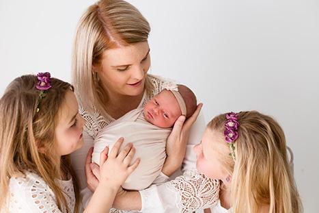 Family Newborn Photography Wollonong